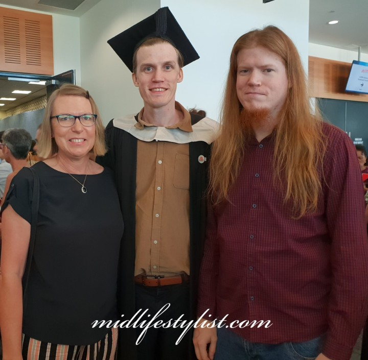 The photo that spurred me to lose weight - at my son's graduation in 2018.  I was at my heaviest