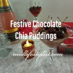 Festive Chocolate Chia Pudding