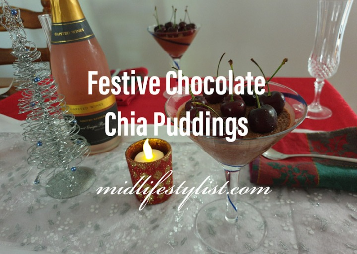 Festive Chocolate ChiaPudding