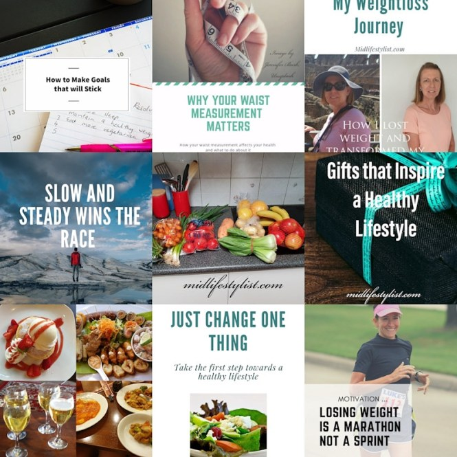 A collage of the top posts of 2019 on the Midlifestylist blog.